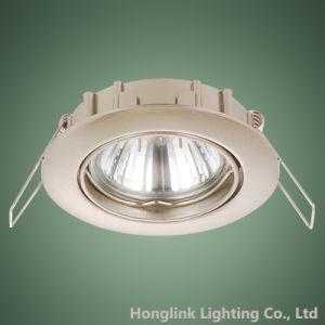 Deckenleuchte-Halter Downlight des Hersteller-Großhandels-GU10 Halogen/LED Messing vertiefter