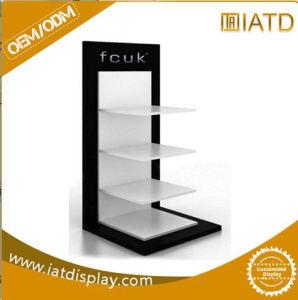 El color negro en forma de U Shop acrílico de venta al por menor Mostrar la tabla