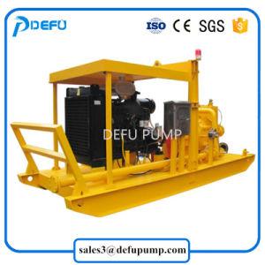 Pomp van de Dunne modder van de Dieselmotor van de Pomp van hoge Prestaties de Mijnbouw