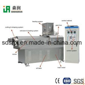 De doble tornillo automática de procesamiento de la máquina extrusora de alimentos para perros