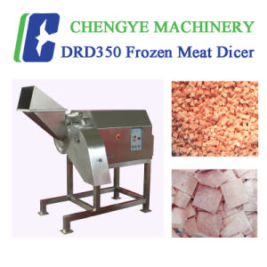 Carne congelada a carne de porco de peixes de frango de corte da máquina de corte