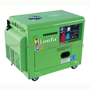 Draagbare Three Phase 3.5kVA Diesel Generator voor Home Use