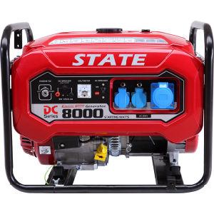 Gerador de gasolina profissionais 6.5kw Fase Única