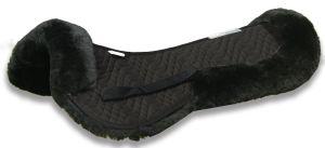 Coperchio mezzo della sella della pelle di pecora del rilievo della sella della pelle di pecora (MUMA35890)