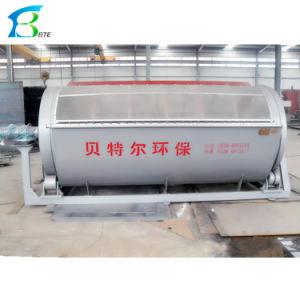 Вращающийся цилиндр тип микрофильтр барабанного типа Micro Filtrtion машина используется для очистки сточных вод бумагу