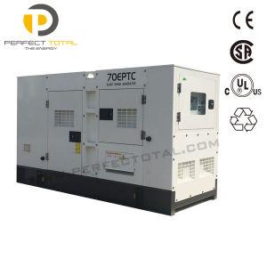 De Stille 75dB Macht die Met geringe geluidssterkte van Keypower de Dieselmotor 100kw produceren van Reeksen