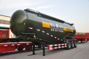 판매를 위한 반 60cbm 유조 트럭 트레일러 부피 시멘트 트럭 운반대 트레일러 시멘트 Bulker 트럭 트레일러