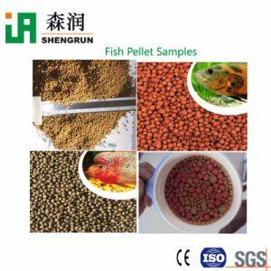 Alta exigiu alimentos para peixes máquina de fazer a alimentação animal peletizadora