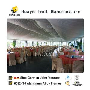 Festa de casamento de fantasia de alta qualidade tenda com decorações de eventos