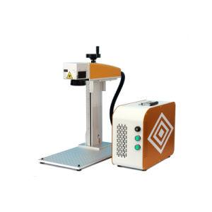 30W de miniMachine van de Gravure van de Laser van de Vezel voor het Plastiek van het Metaal