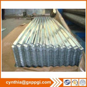 Almacén de la estructura de acero galvanizado corrugado planchas de acero