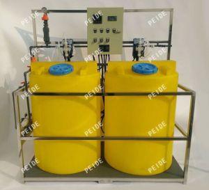 sistema de dosificación químico de los contadores del pH y de la conductividad