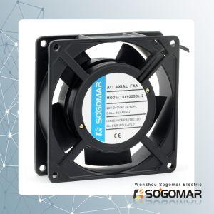 Ventilateur axial à haute performance 92x92x25mm roulement Sleebe