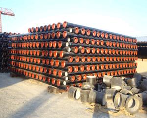 メートルの安い価格の鋳鉄の管1本あたりの延性がある鉄の管の重量