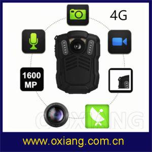 1080P WiFi GPS BT en tiempo real de control del centro de Video 3G/4G de la policía de la cámara del cuerpo fabricado en China