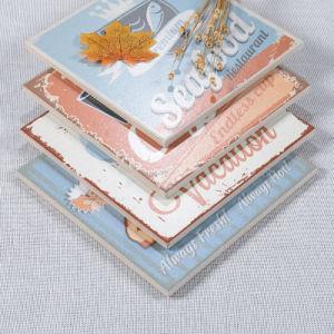 De duidelijke Tegels van de Vloer van het Patroon van de Kleur Toevallige Ceramische