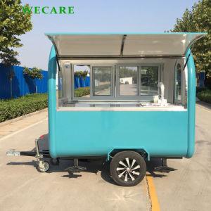 Mobile Edelstahl-Nahrungsmittelkarre für Imbiß