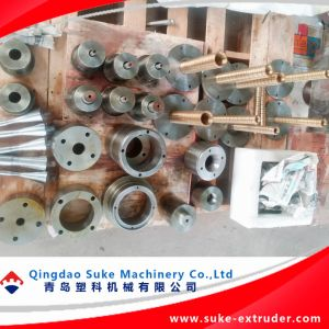 Máquina de tubería de PVC planta extrusora la certificación CE