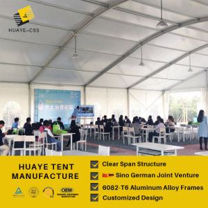 Deutsche Entwurfs-Qualitätssicheres Ereignis-Zelt (hy578b)
