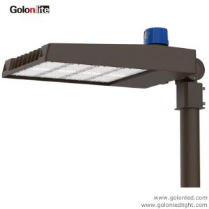Регулируемый рычаг фотоэлемент переход на летнее время датчик 300W 200 Вт 100W 70W 120 lm/W 150W Shoebox светодиодный индикатор