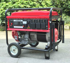 6500 Вт 6,5 Ква Электрический пуск портативный бензиновый генератор для использования в домашних условиях