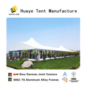 200 Leute-leistungsfähiges großes Partei-Zelt mit Glaswand