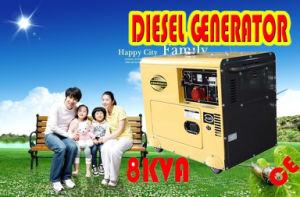Resfriado a ar gerador diesel silenciosa 5KW, 6KW em stock venda quente!