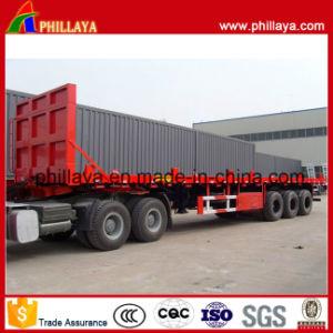 Della scheda capa 3 dell'asse di contenitore di trasporto 40FT della base rimorchio del camion semi