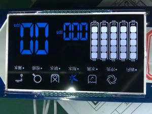 7つのセグメントLCDスクリーンの3-WireシリアルTN LCD