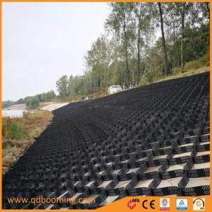 China In het groot Plastic Geocell die voor de Bouw wordt gebruikt