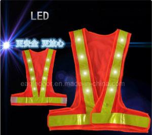 Road Emergency Polyester LED Reflective Jacket Safety Vestの専門のManufacturers