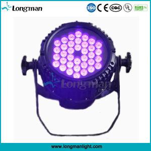 Al aire libre de alta potencia 36*3W UV PAR LED de luz negra
