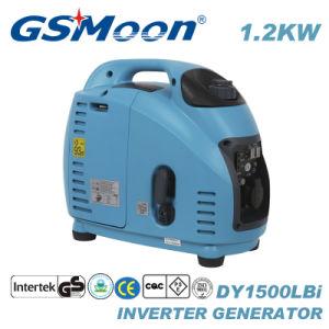 1.2KVA CA de 4 tiempos silencioso Generador Portátil Inverter Digital