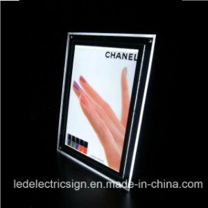 LEDの水晶壁掛けのライトボックスLEDの軽い印ボックス