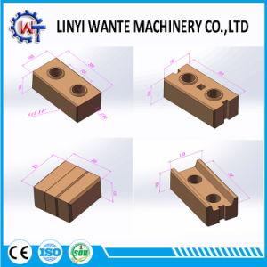 machine à briques de béton semi-automatique de verrouillage/Hight la fabrication de briques de qualité de la machinerie