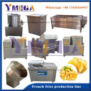 Línea completa de producción para hacer papas fritas frita
