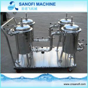 De industriële Filter van de Zak van het Roestvrij staal Duplex voor Chemisch product en de Filtratie van de Olie