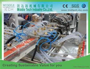 Plastik-Belüftung-hölzerner (WPC) Fenster-Schwellbalken-Türrahmen-Profil-Strangpresßling/Extruder, der Maschine herstellt