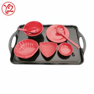 En mélamine de qualité alimentaire de la vaisselle en mélamine de bonne qualité de la vaisselle