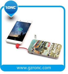 ケーブルの携帯電話の充電器力バンク5000mAhで構築されるベスト