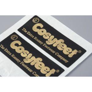 銅の印刷された付着力のペーパーラベルをカスタム設計しなさい