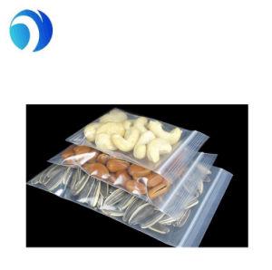 Sac refermable PE Poly zip joint en plastique Sacs de verrouillage de fermeture à glissière avec logo personnalisé le PEBD Poly Ziplock sac en plastique