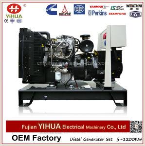 gerador Diesel Output 24kw/30kVA do frame aberto com motor de Lovol (25-200kVA/20-160kw)