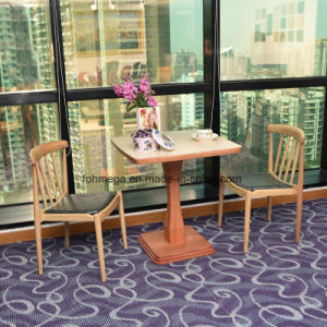 Diseño en Madera muebles de madera artesanales mano mesa de madera silla Set