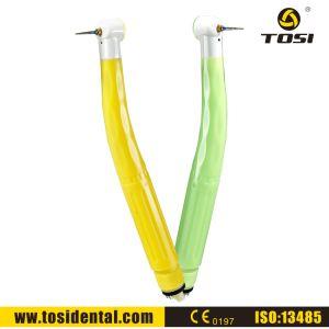 Tosi Amarillo / Verde Desechable de Piezas de Mano Dental de Alta Velocidad Sin Conector Rápido