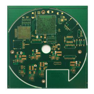 94V0 Multilayer PCB do FR4 eletrônico controlado de impedância da placa de circuito impresso com cegos sepultado através