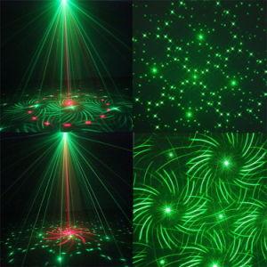 Einzeln-Kopf Weihnachtsgrün-Disco-Stadiums-Laserlicht