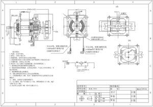 La aprobación RoHS AC Motor eléctrico para mesa de mezclas de carne