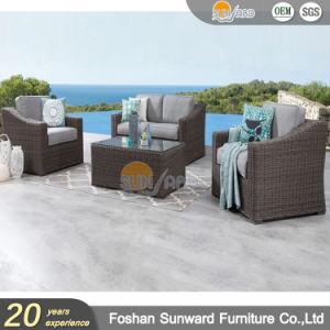 Melhor Venda jardim exterior Rodada Wicker Hotel moderno mobiliário de Lazer