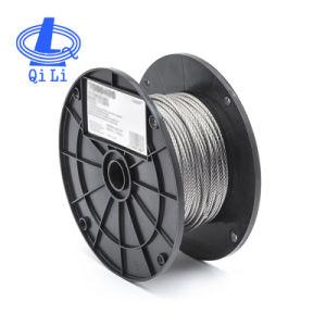 Núcleo da fibra 6X7 Bright/Galvanized/Cabo de Aço Inoxidável